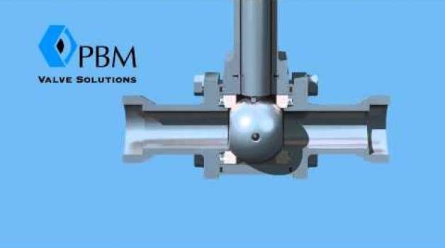 PBM Firesafe Cryogenic Valve Animation